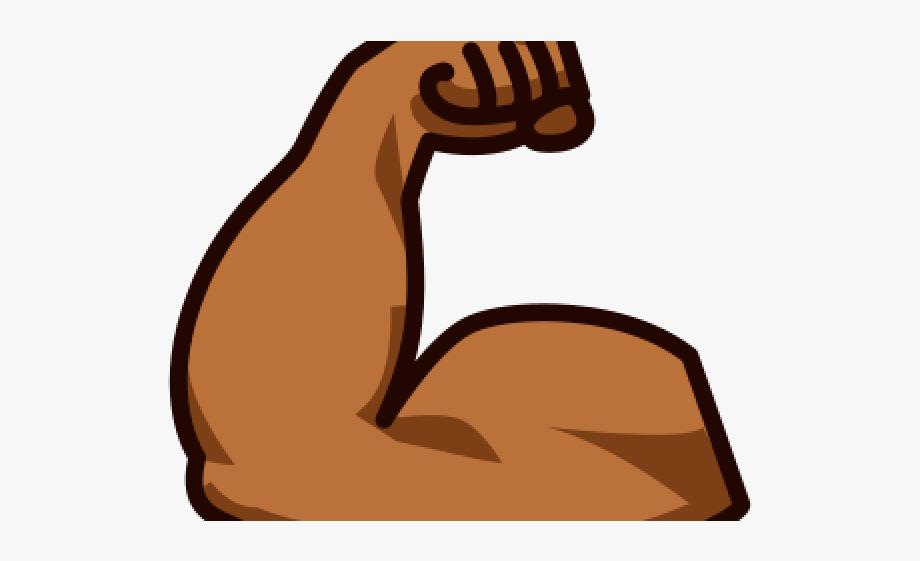Emoji Clipart Muscle.