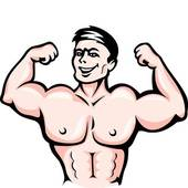 Muscles Clip Art.