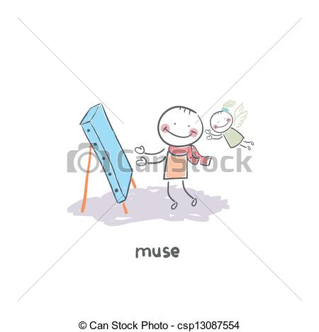 Muse Vector Clip Art EPS Images. 462 Muse clipart vector.