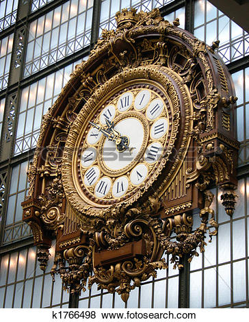 Pictures of The clock at Musee d'Orsay k1766498.