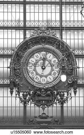 Stock Photography of Musee d'Orsay, Paris, France u15505060.