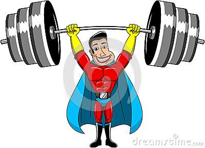Weightlifter Stock Photos.