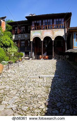 Stock Photography of Bulgaria, Europe, Koprivshtitsa, Old Town.