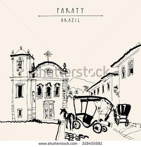 Museum Of Sacred Art Capela De Santa Rita And Horse Carts In.