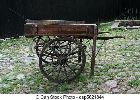 Stock Photo of Pushcart.