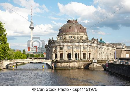 Picture of Museum Island on Spree, Berlin.