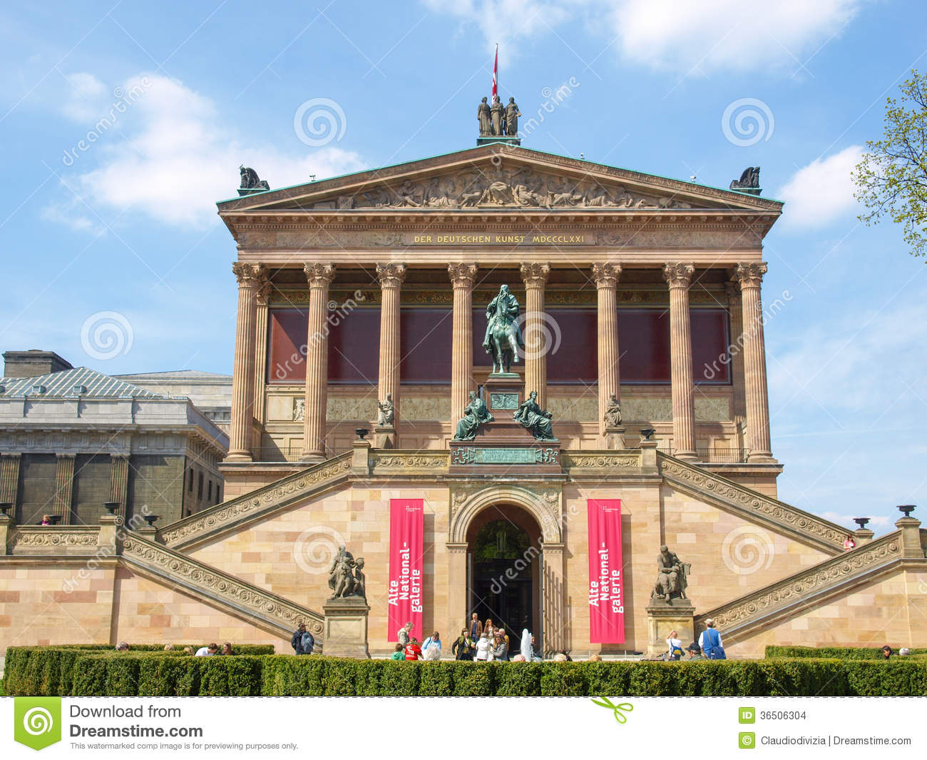 Museums Island In Berlin Editorial Stock Image.