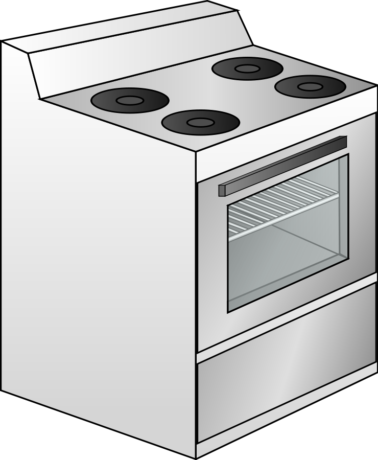 Museum kitchen clipart #7
