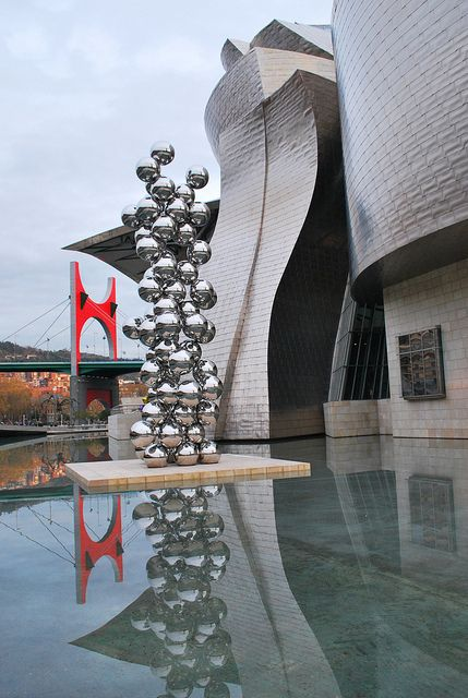 Guggenheim Bilbao #Bilbao, #Bizkaia #Spain.