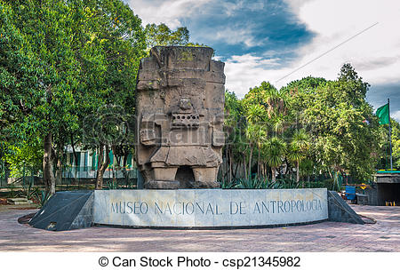 Pictures of Entrance to the National Museum of Anthropology in.