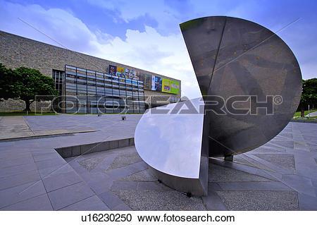Stock Photography of Taiwan, Taichung, National Taiwan Museum of.
