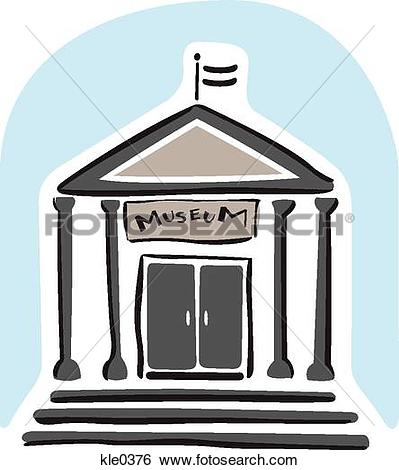 Stock Illustration of A museum kle0376.