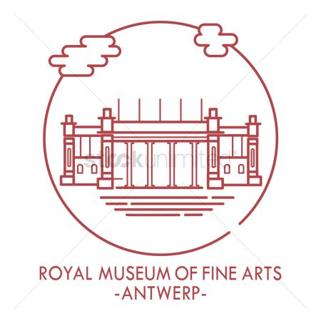 Free Fine Art Museum Stock Vectors.
