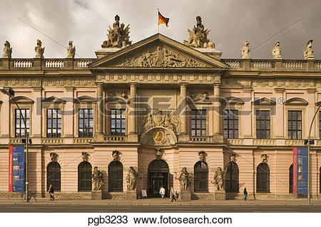 Stock Photo of Germany, Berlin. Zeughaus or Armory. Museum of.