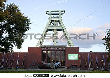 "Stock Images of ""The German Mining Museum, """"""""Deutsches Bergbau."
