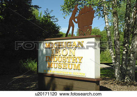 Stock Photography of Negaunee, MI, Michigan, Upper Peninsula.