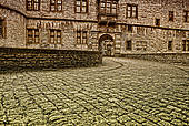 "Stock Image of ""Wewelsburg, triangular castle, former Nazi cult."