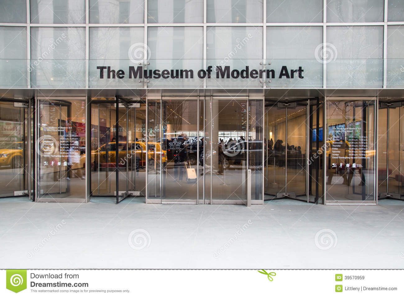 Mordern of art museume clipart.