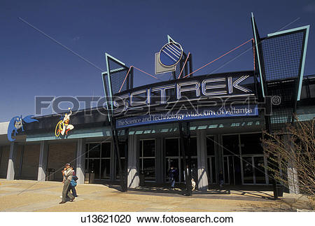 Stock Photography of SciTrek, Atlanta, Georgia, GA, SciTrek, the.