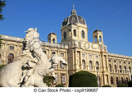 Picture of The Museum of Natural History in Vienna.