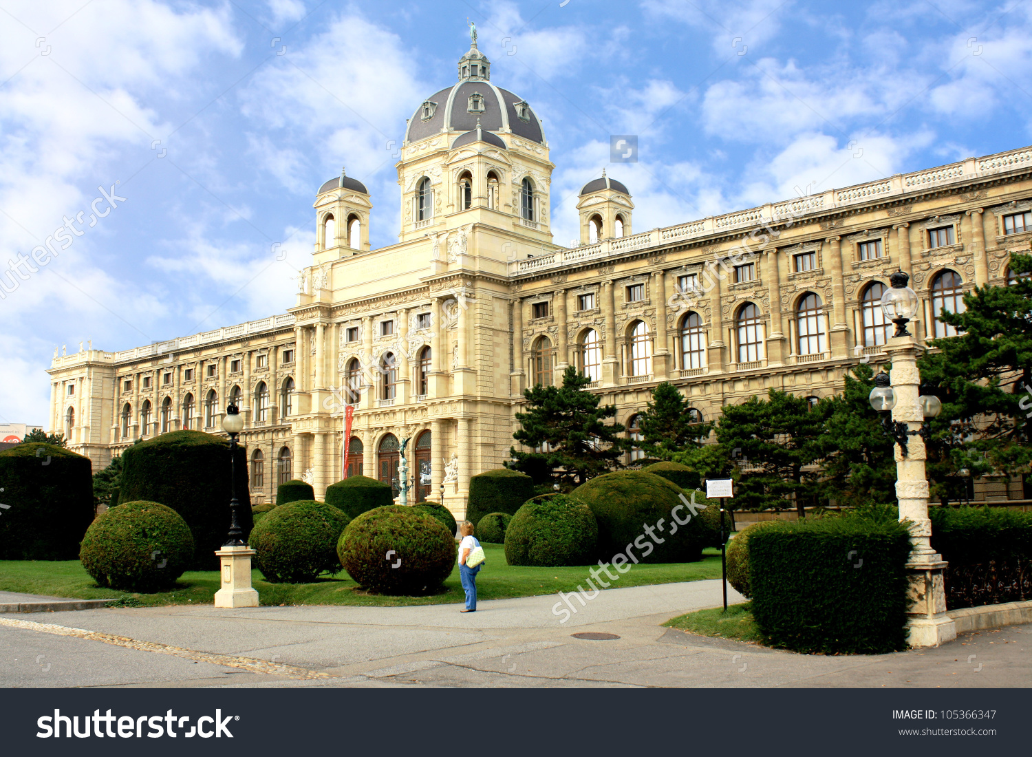 Austria. Vienna. Museum Of Natural History On The Square Of Maria.