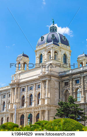 Stock Photograph of Museum of Natural History in Vienna, Austria.