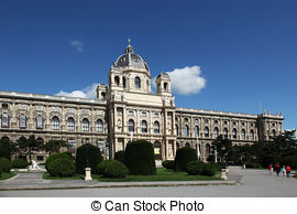 Stock Photo of Museum of Natural History of Vienna.