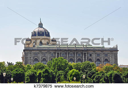 Stock Image of Museum of Natural History (Naturhistorisches Museum.