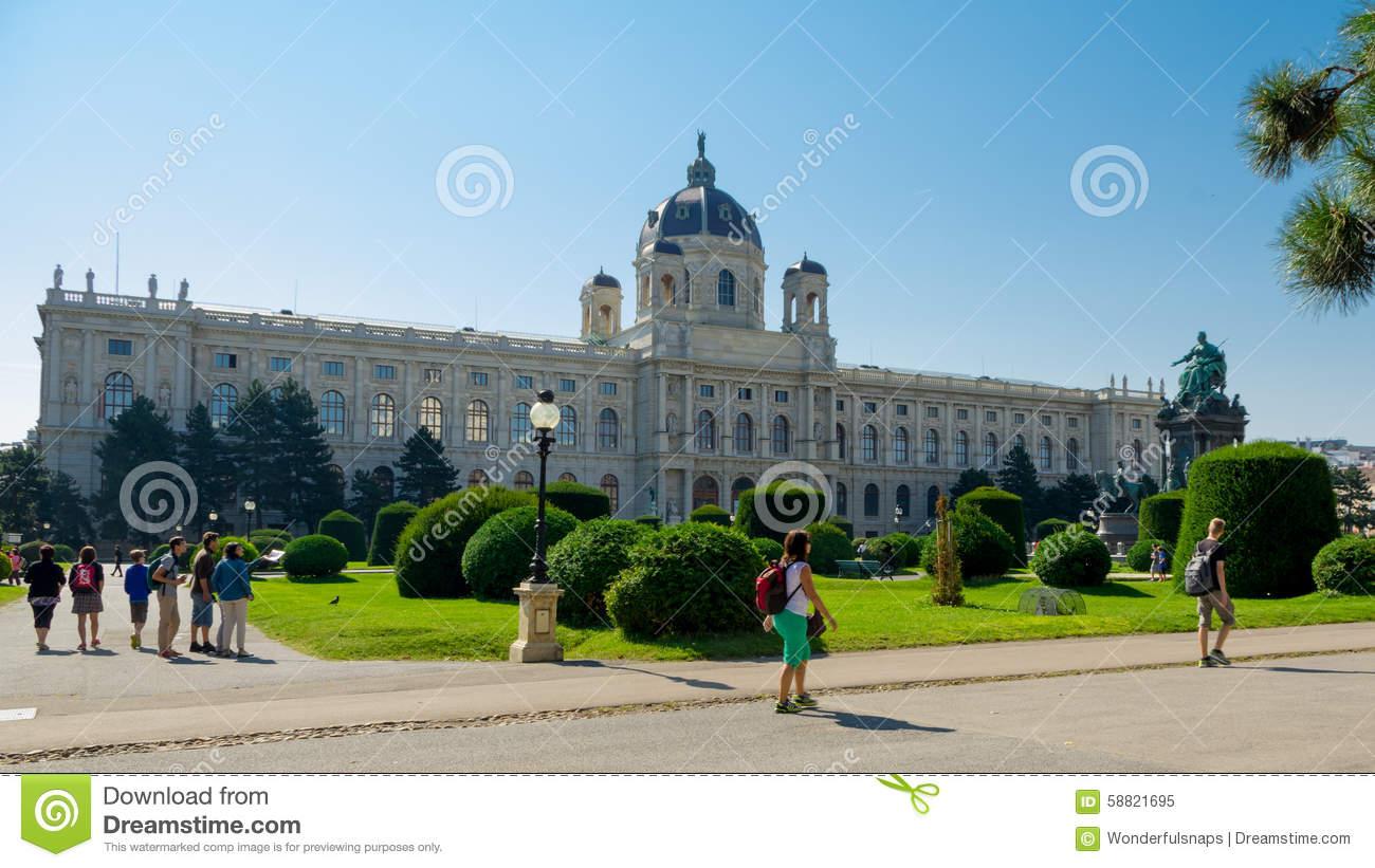 Historical Museum Of Applied Arts In Vienna / Kunsthistorisches.