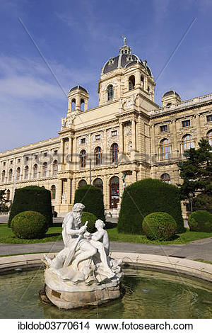 """Stock Photo of """"Museum of Natural History, Vienna, Austria, Europe."""