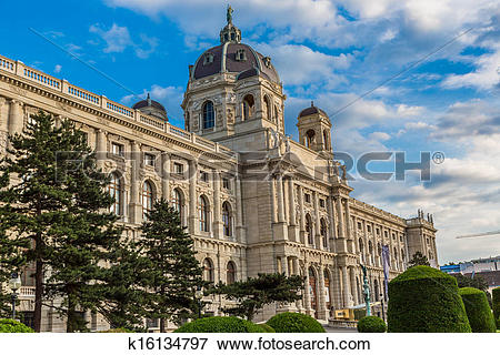 Picture of Museum of Natural History in Vienna, Austria k16134797.