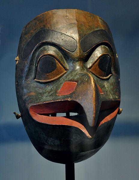 Tlingit eagle mask Museum Rietberg, Zurich; donation of Eduard von.