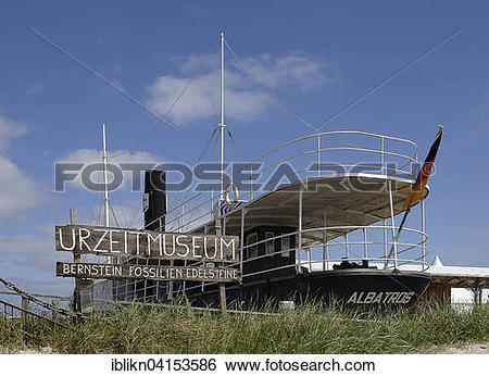 Stock Images of Museum ship Albatros, Ostsee Resort Damp.