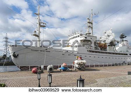 "Stock Photograph of ""Museum ship """"""""Cosmonaut Viktor Patsayev."
