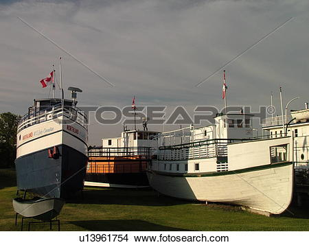 Stock Photo of Selkirk, Canada, MB, Manitoba, Marine Museum of.