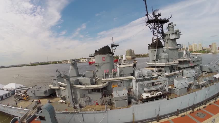 Museum Ship Stock Footage Video.