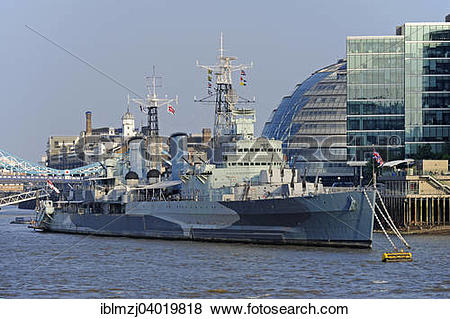 "Pictures of ""HMS Belfast museum ship of the Imperial War Museum."