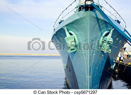 Picture of Destroyer Ship.