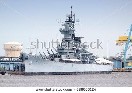 Battleship Stock Images, Royalty.