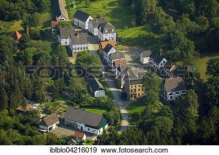 Stock Photograph of Museum Village, Hagen Open.