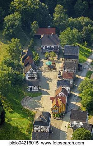 Stock Image of Museum Village, Hagen Open.