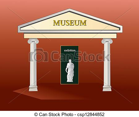 Museums clipart.