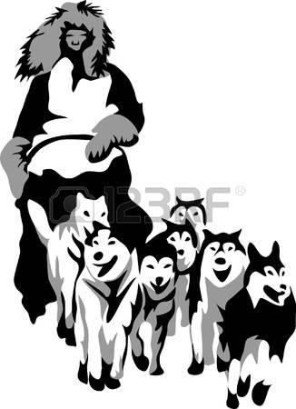 616 Dog Sled Stock Vector Illustration And Royalty Free Dog Sled.