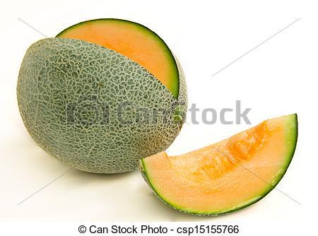 Stock Image of cantaloupe melon csp15155766.