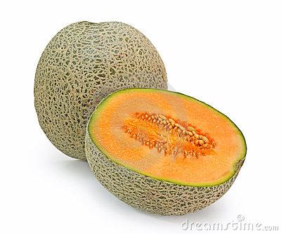 Cantaloupe Melon Stock Photos.
