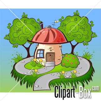 CLIPART MUSHROOM HOUSE.