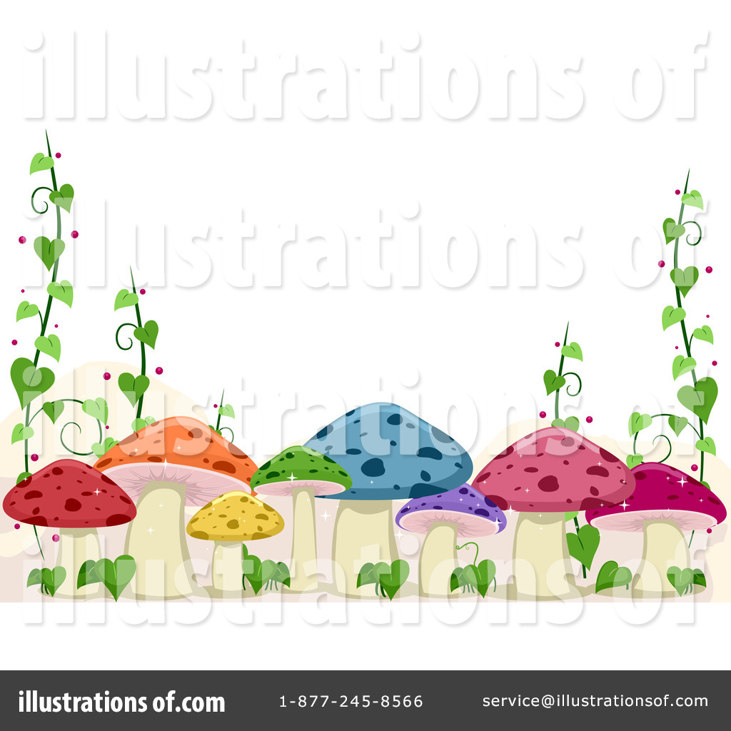 Mushrooms Clipart #1079344.