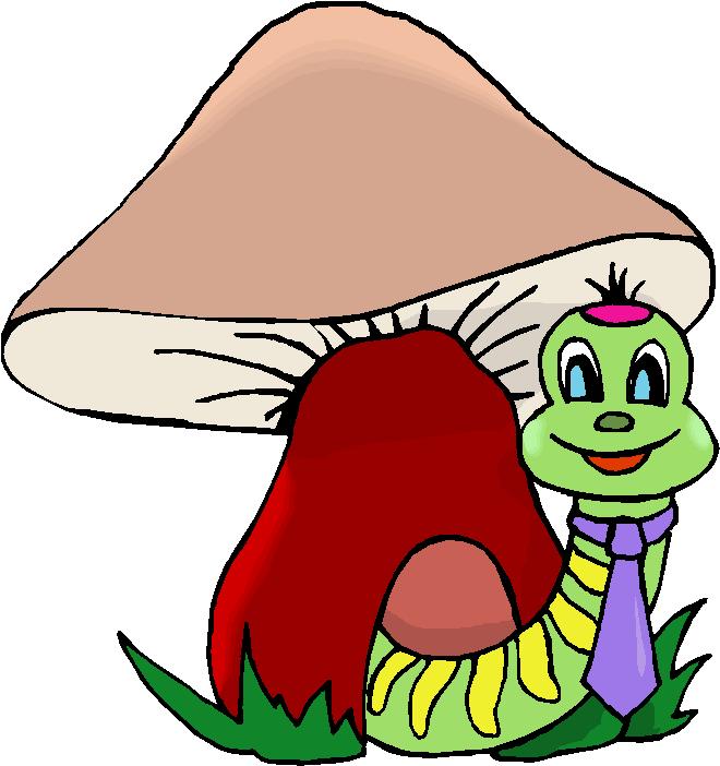 Mushrooms Cliparts.