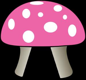 Green mushroom clipart.