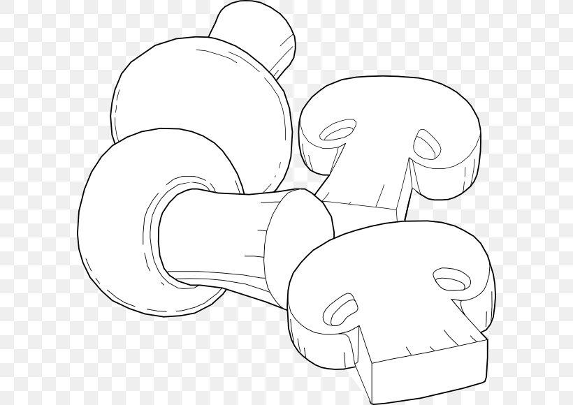 Edible Mushroom Common Mushroom Clip Art, PNG, 600x580px.